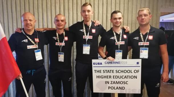 Studenci PWSZ z medalami