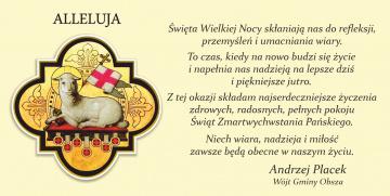 Andrzej Placek - Wójt Gminy Obsza