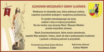 Łukasz Kłębek - Wójt Gminy Ulhówek