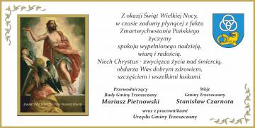 Stanisław Czarnota - Wójt Gminy Trzeszczany