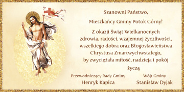 Stanisław Dyjak - Wójt Gminy Potok Górny