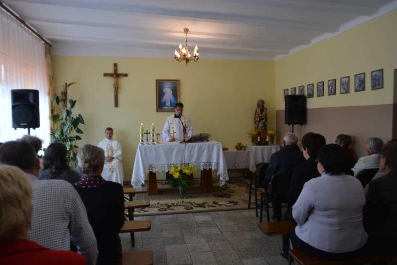 kościół filialny w Husynnem