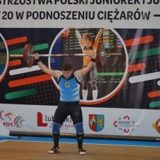 Mistrzostwa Polski Juniorek i Juniorów do lat 20 w podnoszeniu ciężarów w Zamościu