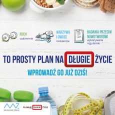 Planuję Długie Życie - cykl audycji edukacyjnych realizowanych w ramach kampanii społecznej Ministra Zdrowia